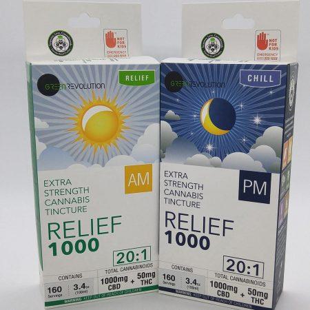 GREVO Tincture Relief PM 1000mg CBD