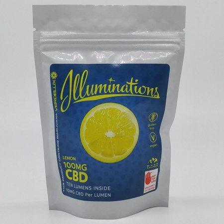 VERD Illuminations CBD Lemon 200mg 10 Pack