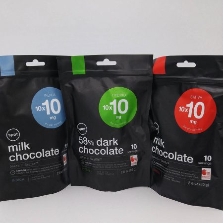 SPOT SATIVA Dark Chocolate 10 Pack
