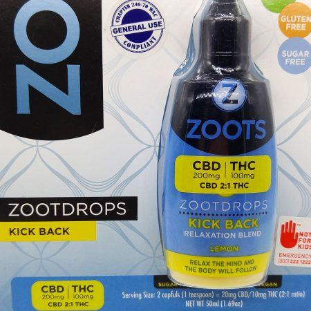 DB3 ZootDrops – Lemon CBD 2:1