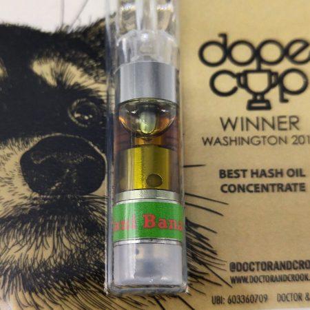 CROOK Sour Diesel CO2 Distillate Cartridge 1g