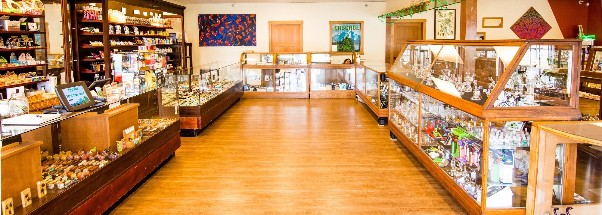 Cascade Herb Co Store Interior