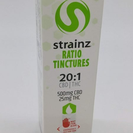 HONU Strainz Tincture 20:1 High CBD
