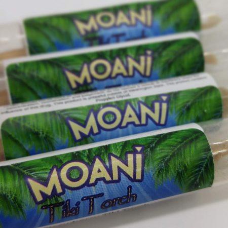 MOANI Tiki Torch Mango -Pineapple  Kief And Oil Pre Roll 1g