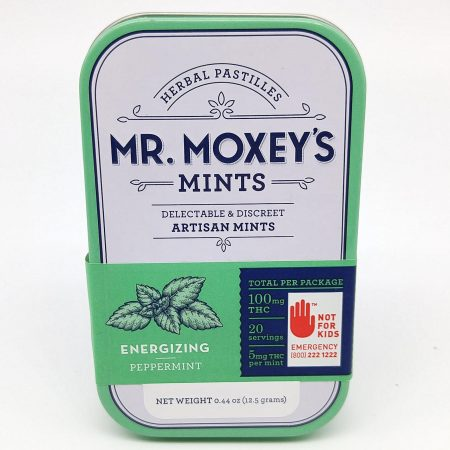 SPOT Moxey Mints Sativa Peppermints 100mg THC 20 X 5mg