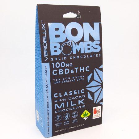 Bon Bombs Blue 1-1 CBD THC
