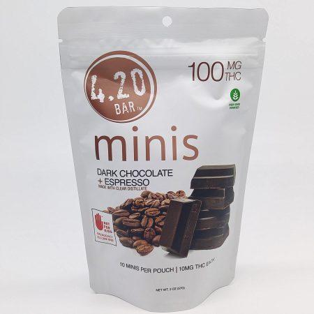 EVER Dark Chocolate Espresso 420 Mini 10 Pk