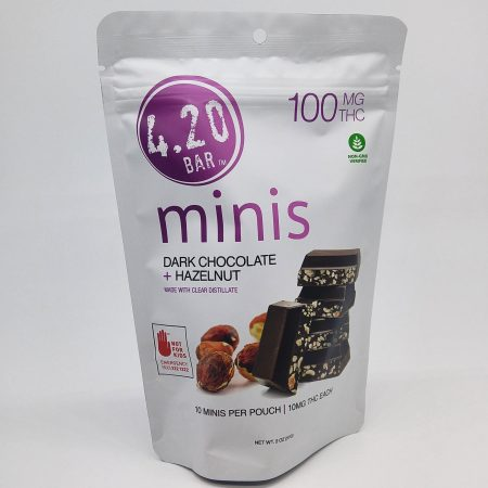 EVER Dark Chocolate Hazelnut 420 Mini 10pk