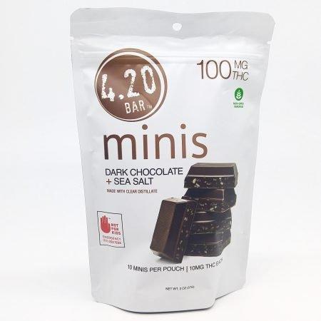 EVER Dark Chocolate Sea Salt 420 Mini 10 Pk