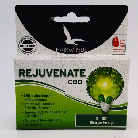 FAIR Capsule Rejuvenate CBD 10:1 10 Pack