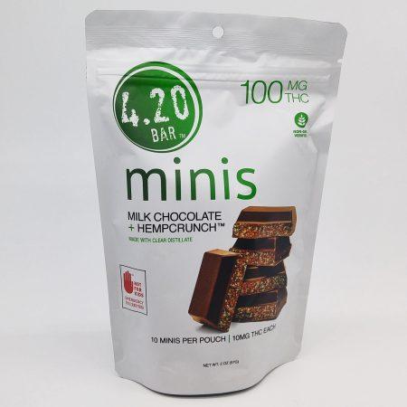 EVER Milk Choc Hemp 420 Mini 10 Pk