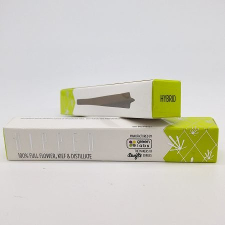 GREE Wedding Cake DIPPED Infused Pre Roll 1g