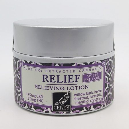 CERES Topical Lotion: Relief CBD:THC