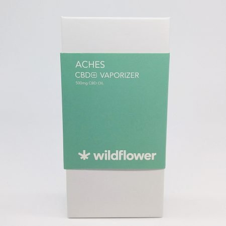 WILD Aches CBD Disposable Vape .5g