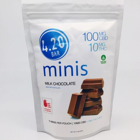 EVER Milk Chocolate 10:1 CBD 420 Mini 10 Pack