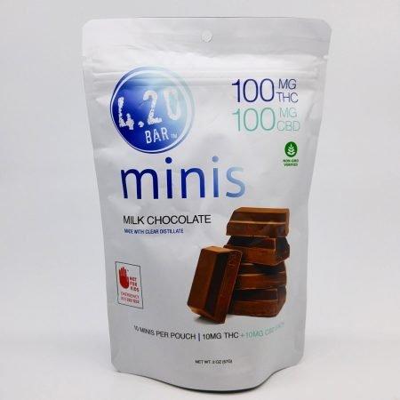 EVER Milk Chocolate CBD 1:1 420 Mini 10pk