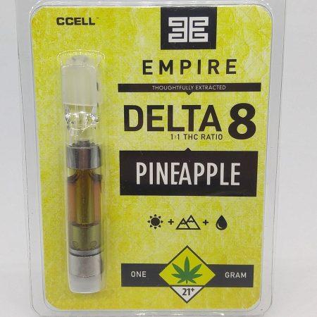 EMPIRE Pineapple Delta 8 Cartridge 1g
