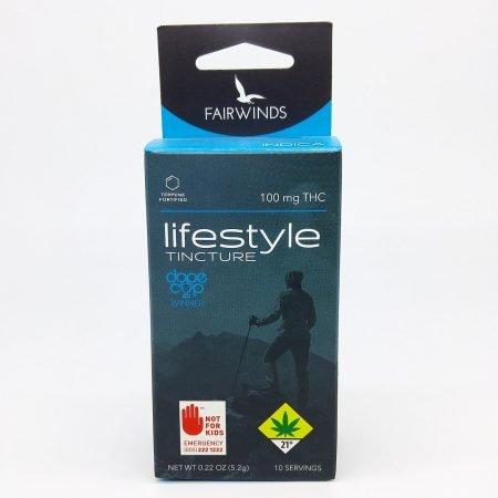 FAIR Tincture Lifestyle Indica 100mg THC
