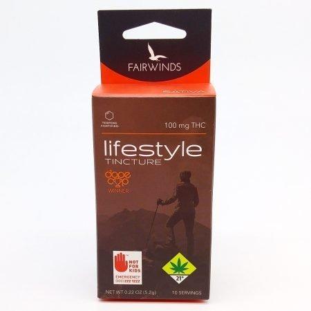 FAIR Tincture Lifestyle Sativa 100mg THC