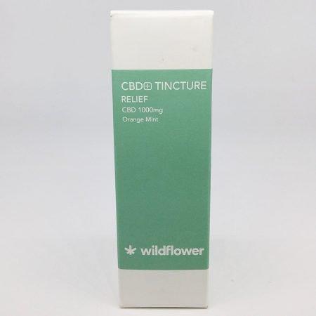 Wildflower CBD Tincture Relief in Orange Mint