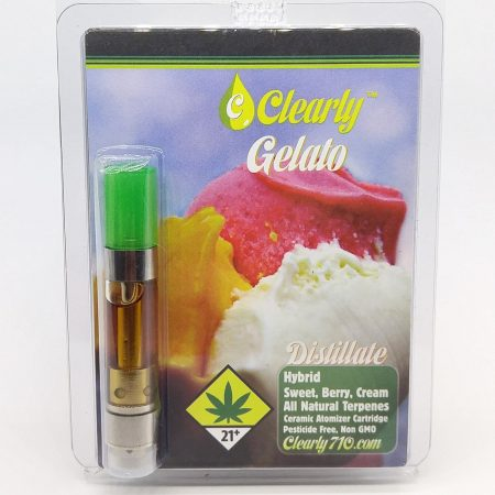 CLEARLY Gelato Distillate Cartridge 1g