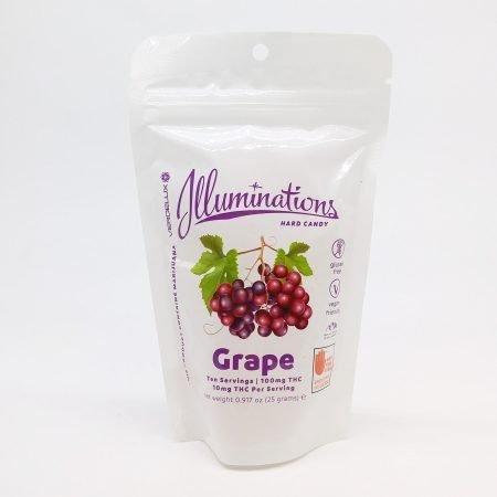 VERD Illuminations Grape 100mg 10 Pack
