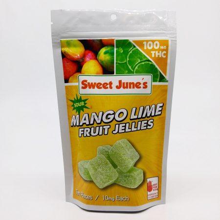 Sour Mango Lime Fruit Jellies Product Image