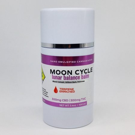 CERES Topical Balm: Roll Up Moon Cycle 1:1 CBD:THC 3.4oz