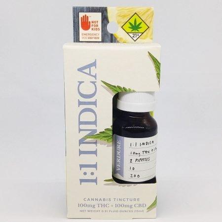 NWCS Verdure Tincture – Honey Lemon 1:1 CBD:THC Indica