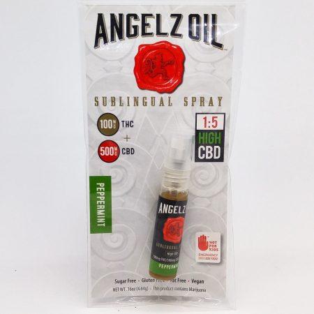 PROGOLD Angelz Oil Sublingual Spray 100mg THC: 500mg CBD