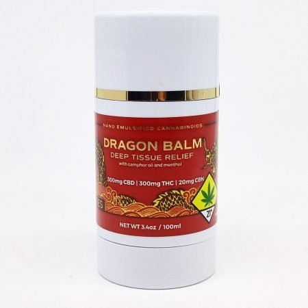 CERES Topical Balm: Roll Up Dragon Balm 1:1 CBD:THC 3.4oz