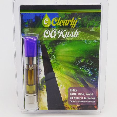 CLEARLY OG Kush Distillate Cartridge 1g