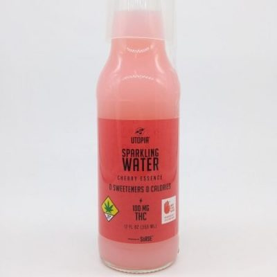 GLAB Utopia CHERRY Sparkling Water 100mg