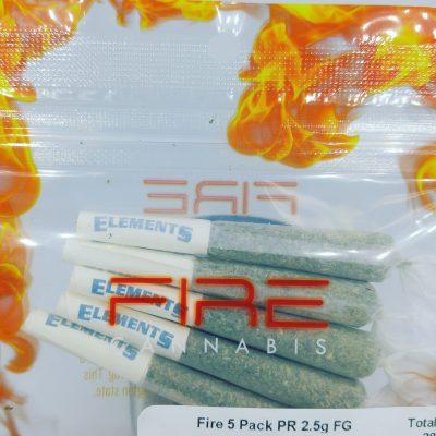 VIVA Wedding OG Pre Roll 5 Pack 2.5g